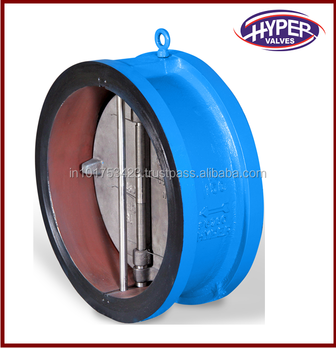 Retainerless Wafer Type Dual Plate Check Valve