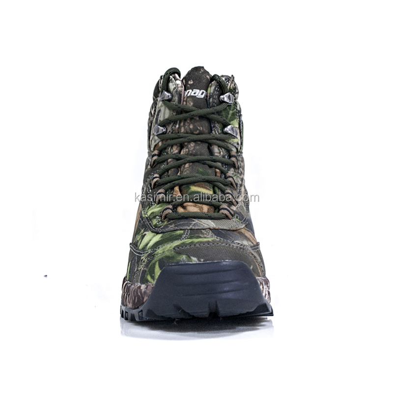 Stock outdoor king-tex waterproof camouflage hunting boots for men,low MOQ