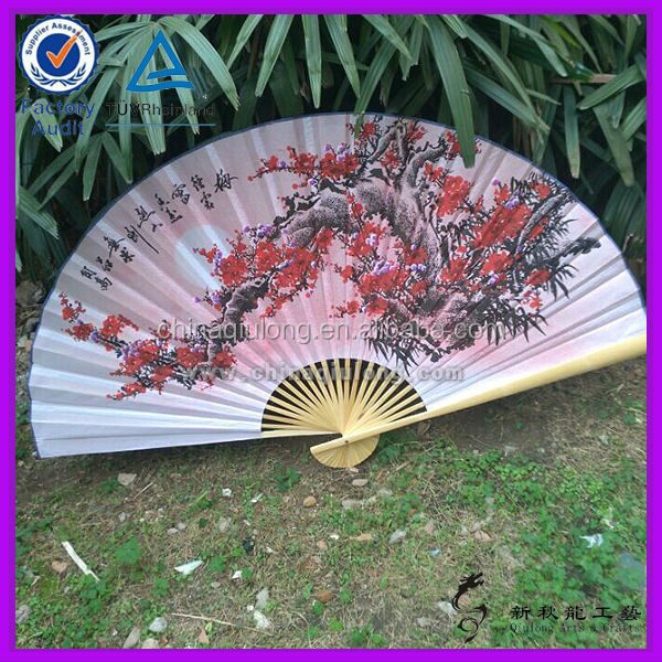 Decorative Items Bamboo Products Wholesale Large Folding Fans