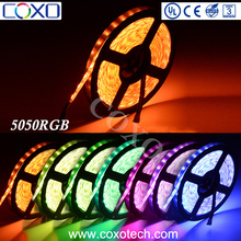 High Quality SMD 5050 60d RGB 12V Led Strip Light with 5 Years Warranty