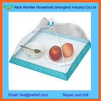 Rectangular picnic food cover