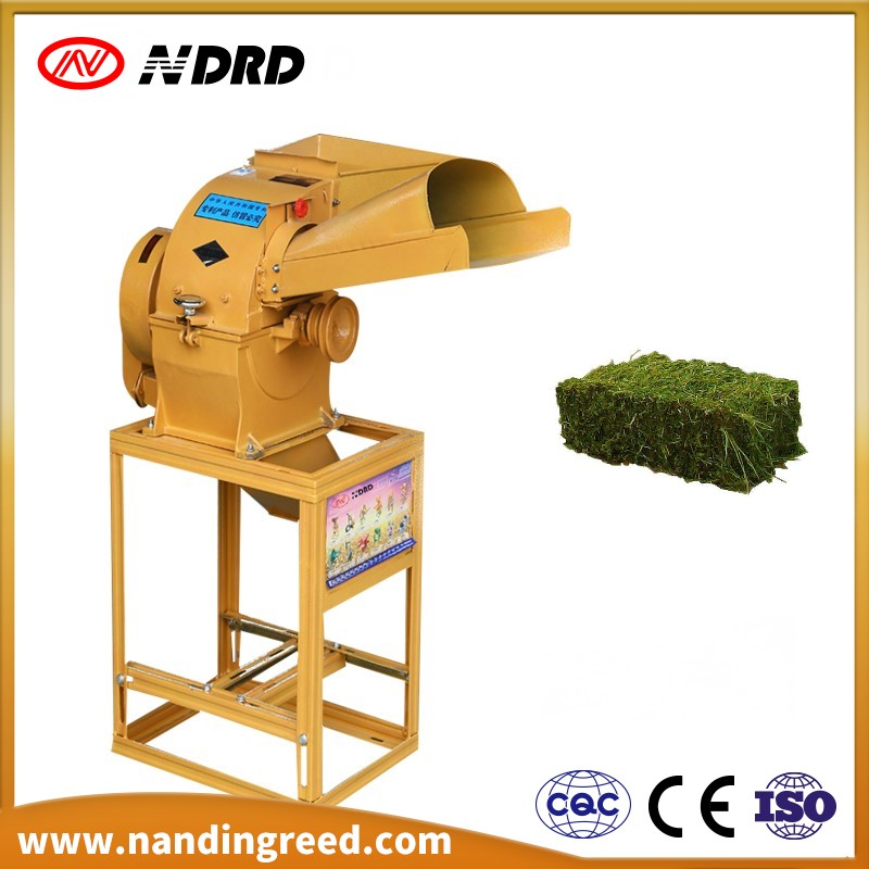 2017 hot sale cow feed grass chopper cutting machine cotton stalk cutter