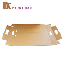 Custom Printed Corrugated Kraft Paper Boxes Fruit Tray Packing