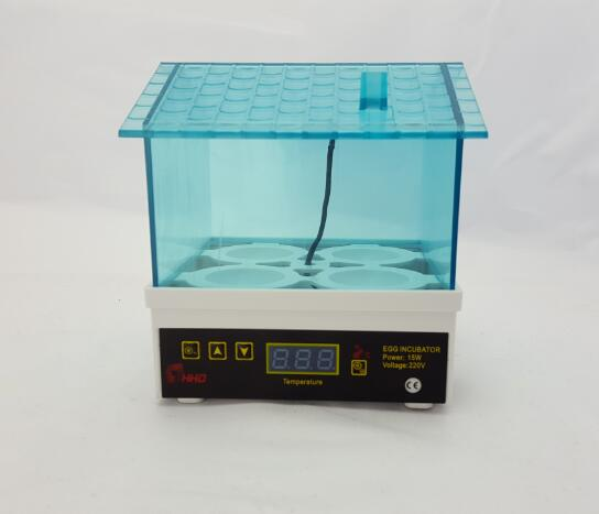 HHD Automatic Temperature Control Egg-Turning 4 Egg Incubator With CE