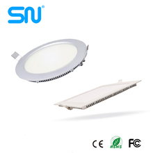 china manufacturer 3w 4w 6w 12w 15w 18w 24w surface mounted led ceiling panel light