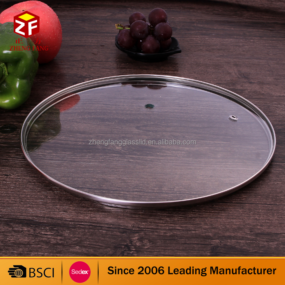cookware tempered glass pot lid manufacture