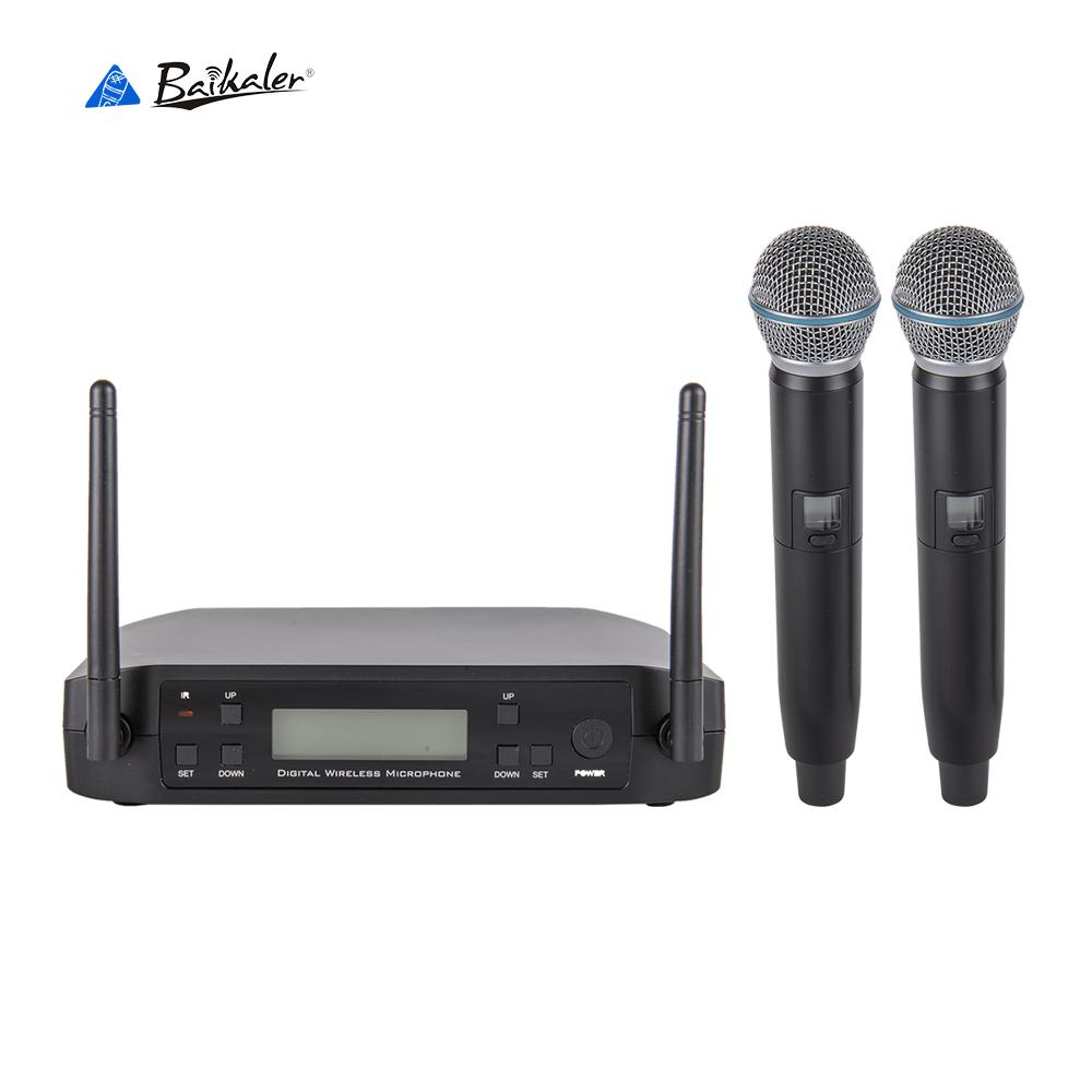 Baikaler BK-D220 numérique sans fil microphone KTV bar scène stéréo microphone sans fil - ANKUX Tech Co., Ltd