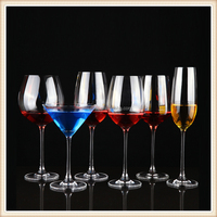 Best selling clear bulk crystal party wine glass