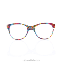 Hot sell cellulose acetate sheet tortoiseshell bright color glasses frames