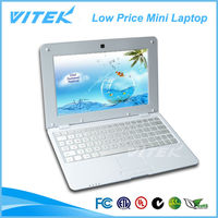 Alibaba Website Hot Selling 10.1 inch Touch Panel Low Price Mini Laptop