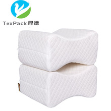 Factory Wholesale Leg Support Back Pain Relief Knee Pillow Memory Foam Cushion