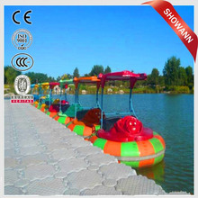 2015 factory provide bumper boat water adult electric bumper boat