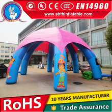 6 legs large inflatable party tent for sale