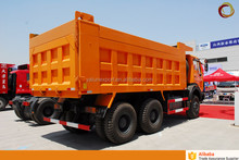 Off road tipper lorry truck Beiben 2638K 380hp dump truck price 10 tire quarry tipper