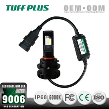 2200 High luminance CE ROHS certificated single beam 9006 led car conversion automatic headlight kit