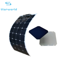 12V 18V 24V power supply sunpower silicon rollable flexible solar panel 100W