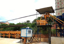 Export to East Asia/Saudi Arabia easy operate hzs120 concrete batching plant
