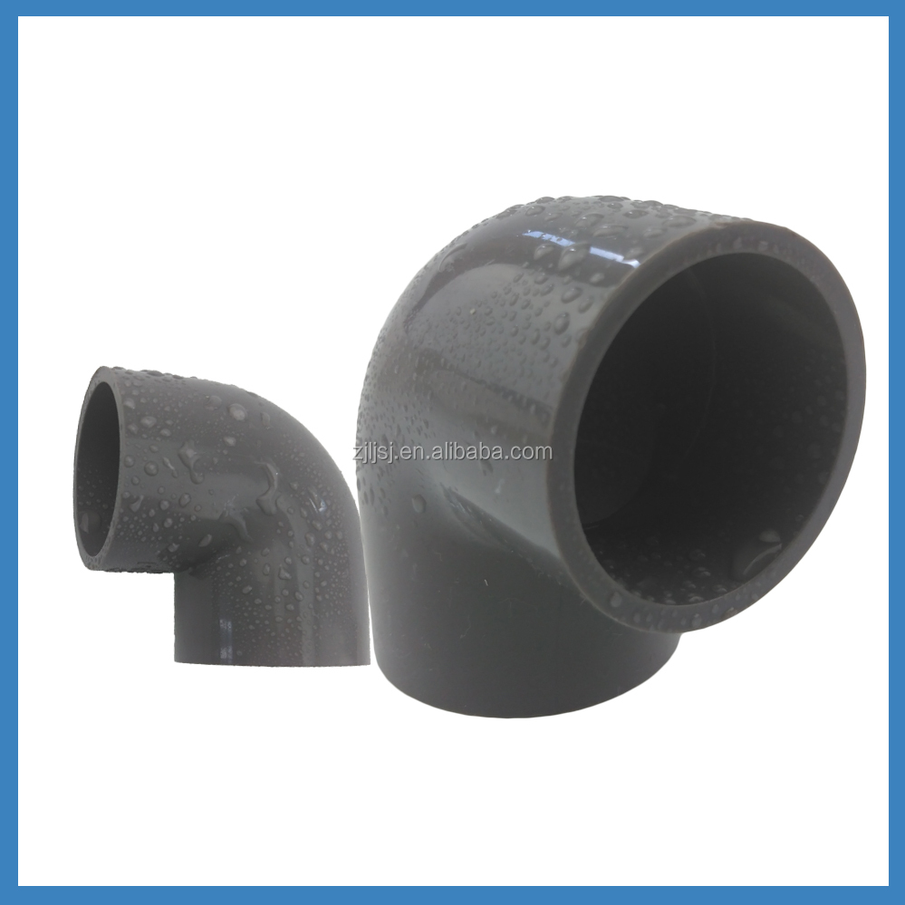 factory price pvc fittings elbow and upvc water supply pipes