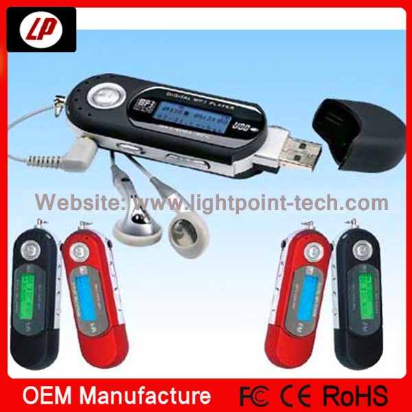New type FM function 1GB 2GB 4GB USB port mp3 player also download songs mp3 players