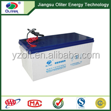 Wholesale price!AGM deep cycle solar gel battery 12V 200AH