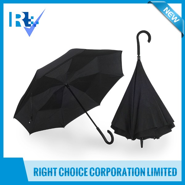 Newest Design Hot Selling automatic open /close outdoor Upside Down automatic umbrellas