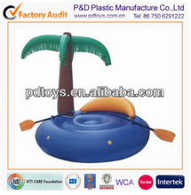 inflatable water floating island, beach mattress
