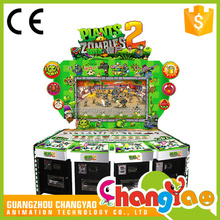 Video Shooting Plants VS Zombies 2 Fishing Game Machine Arcade Amusement Shooting Game For Sale
