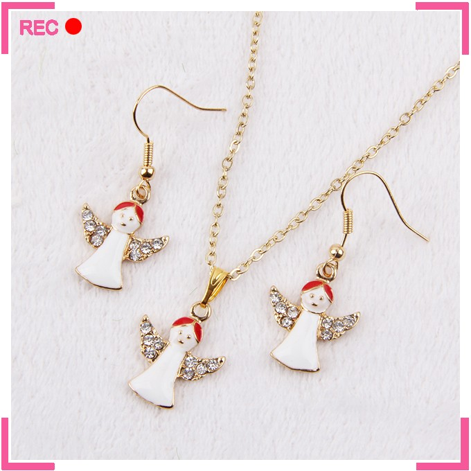 Cheap necklace and earring sets for christmas, necklace sets for women
