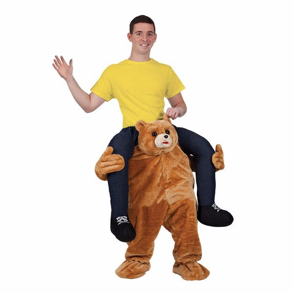 Christmas Adult Soft Mascot Costume Fancy Dress Carry Me costume
