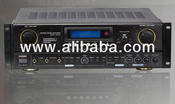 Power Amplifier with digital audio processor