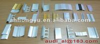 floor edge seal aluminum extruded profiles