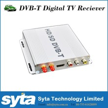 SYTA 180Km/h maximum Russian Europe Asia Car DVB T / DVB T2 Tuner 1080P HD car receiver