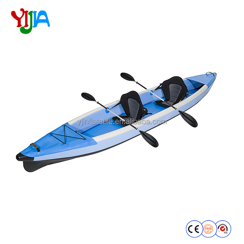 Used kayak fishing inflatable boat for family blank