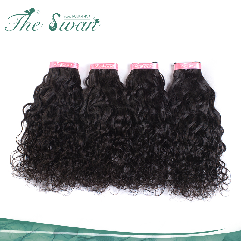 Swan No Chemical Water Wave Human Mink Brazilian Hair Grade 10A