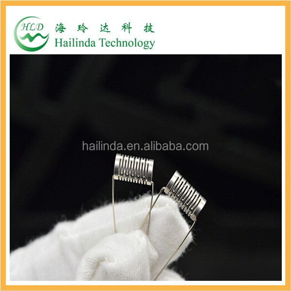 SS316L notch coil pre-made-coil notch coil with factory price