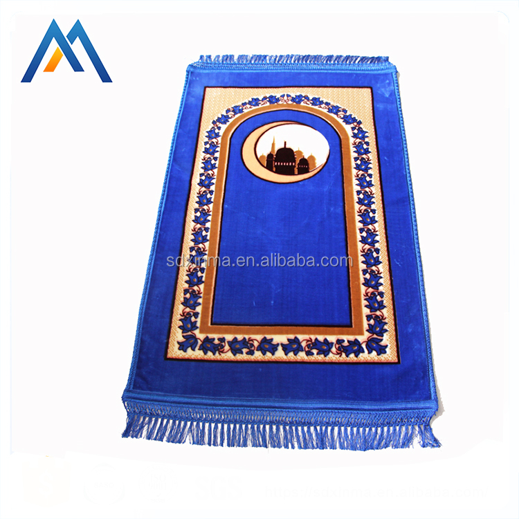 Printed prayer rugs for mosque turkish prayer rugs