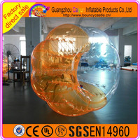 Big inflatable body bumper ball bubble soccer/giant adult bumper ball for sale