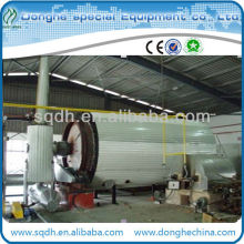 WJ-6 waste plastic pyrolysis plant for processing municipal waste solid with CE/ISO