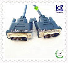 kuncan dvi cable dvi cable with 24+1 dvi 59 pin cable