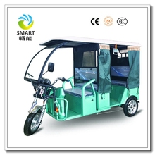 Hot 3 wheel electric taxi passenger seat tricycle tuk tuk for sale