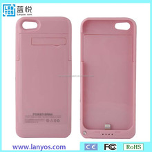 Accessories for cell phone china supplier wireless charger battery casefor iphone 5/ 5s