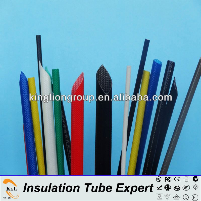 K&L fiberglass braided silicone rubber sleeving