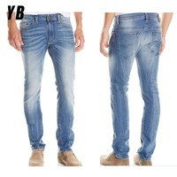 2013 new style fashion men's clothing pencil jeans for men jeans pent