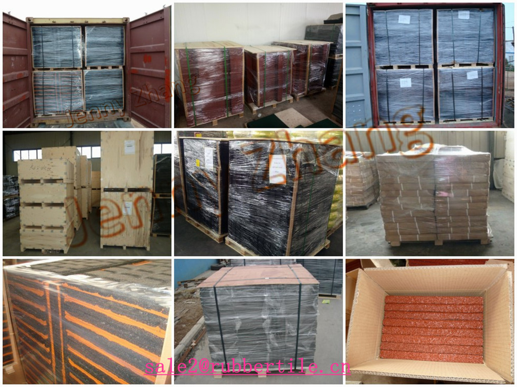 rubber tile packing_