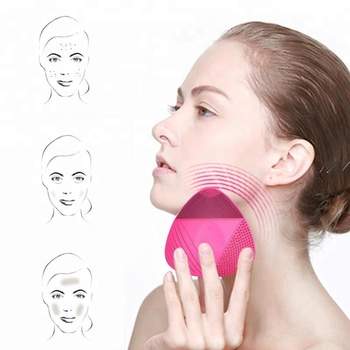 Silicon + ABS Rechargeable Electric Facial Skin Cleansing Brush
