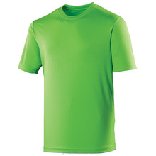 100% stretch polyester wholesale blank dry fit t-shirts