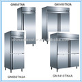 Europe style gastronorm stainless steel kitchen refrigerator