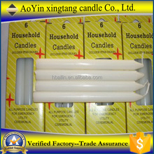 Cheap Jordan 10g white paraffin wax household candle white candle for selling