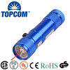 8 LED White Lighting +1 Red Beam Laser Flashlight