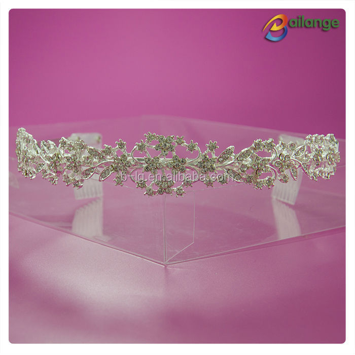 Ladies Hair Accessories beauty 2016 wholesale india wedding tiaras